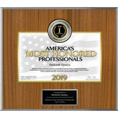 Americas Most Honored Professionals 2019